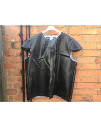 Belgian Army Leather Style Jerkin Fur Lined