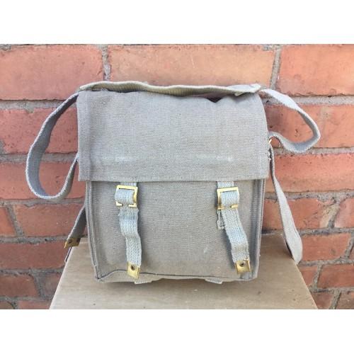 British Army 37 Pattern Canvas WW2 Style Shoulder Bag Khakhi