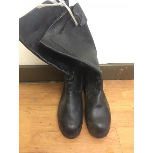 Czech Army Leather Jack Boots