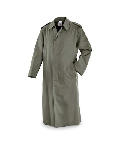 French Army Gaberdine Trench Coat