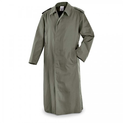 French Army Gaberdine Trench Coat