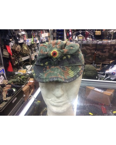 German Army Flecktarn Camo Field Cap