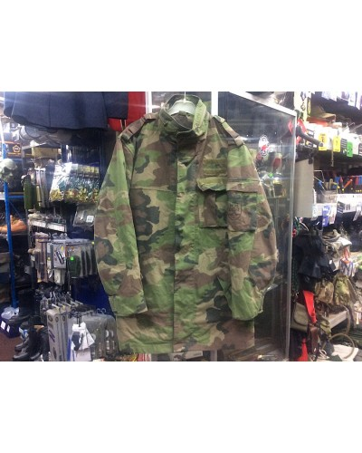 Slovak Army Camo Parka Heavy Weight Cotton