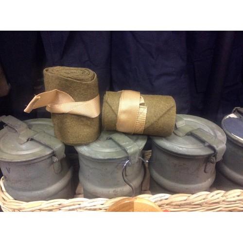 British Army WW2 Style Leg Puttees Wraps X-Large