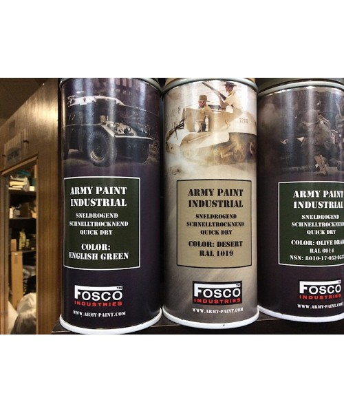 Army Spray Paint Cans 400Ml Olive Drab