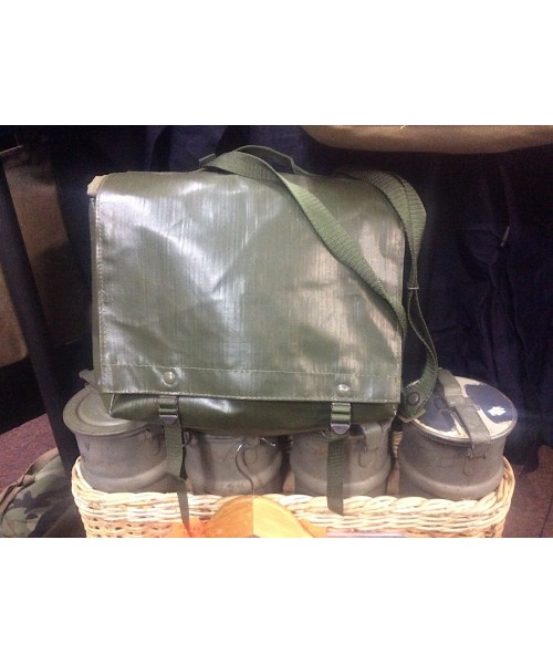 Czech Army Bread Bag Haversack Shoulder Bag Green