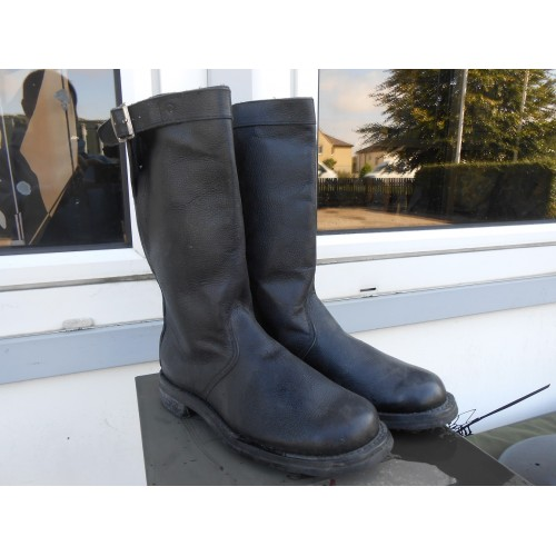 Belgian Army Leather Jack Boots