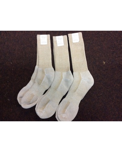 British Army Desert Colour Socks New Unissued