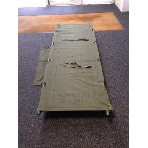 Belgian Army Field Cot Bed