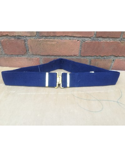 Belgian ABL Airforce Canvas Webbing Belt