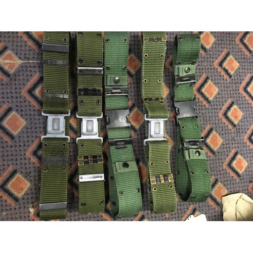 US Army Canvas Belts LC1 & LC2