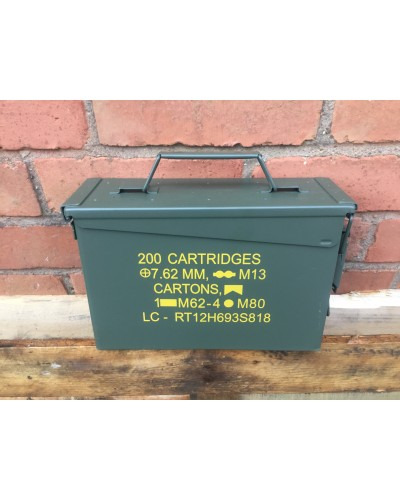 Ammo Box 30 Cal Nato New Unissued