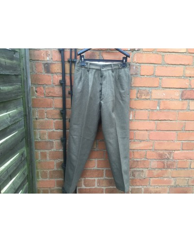 Italian Army Dress Wool Trousers