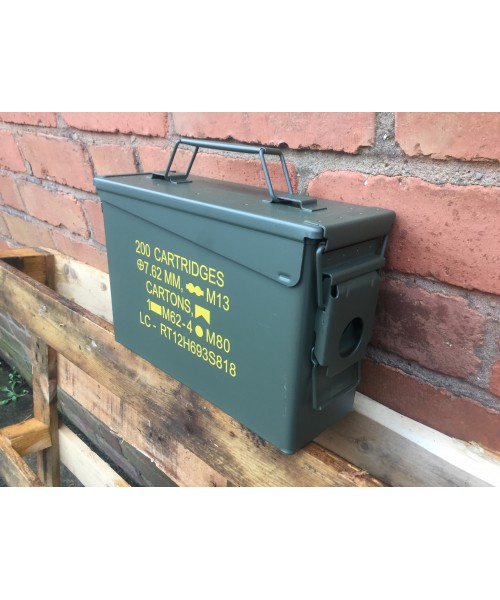Ammo Box 30 Cal Nato New Unissued