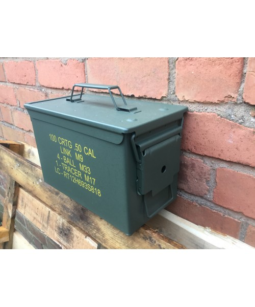 Ammo Box Fat 50 Cal Nato New Unissued