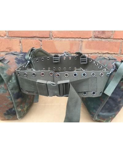 German Army Canvas Webbing Belt