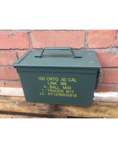 Ammo Box 50 Cal Nato New Unissued