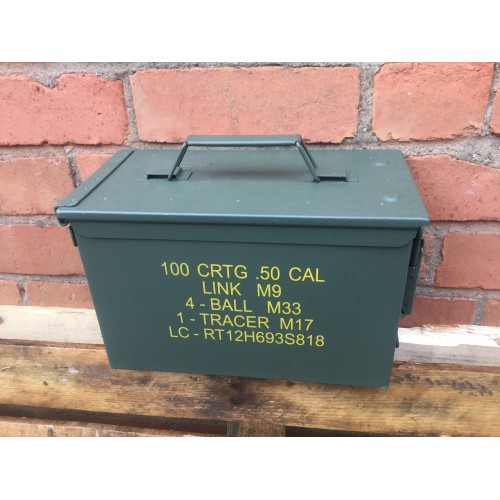 Ammo Box Fat 50 Cal Nato New Unissued