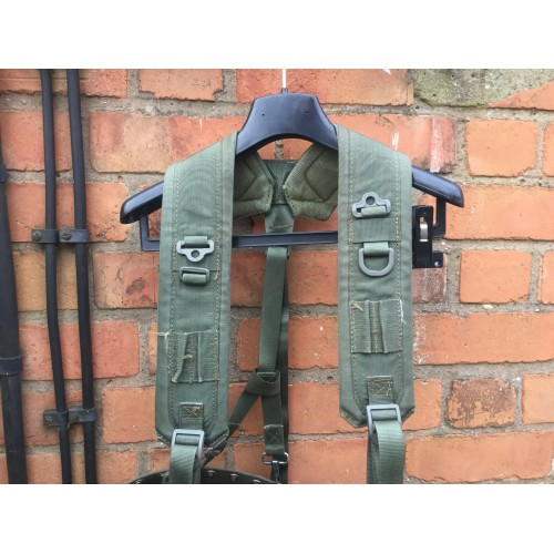 Italian Army Canvas Webbing Yoke