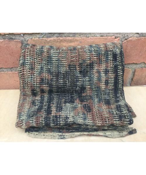 Scrim Net Large Flecktarn Camo Pattern