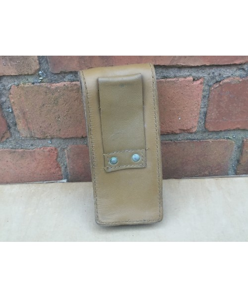 French Army Leather Magazine Pouches Graded